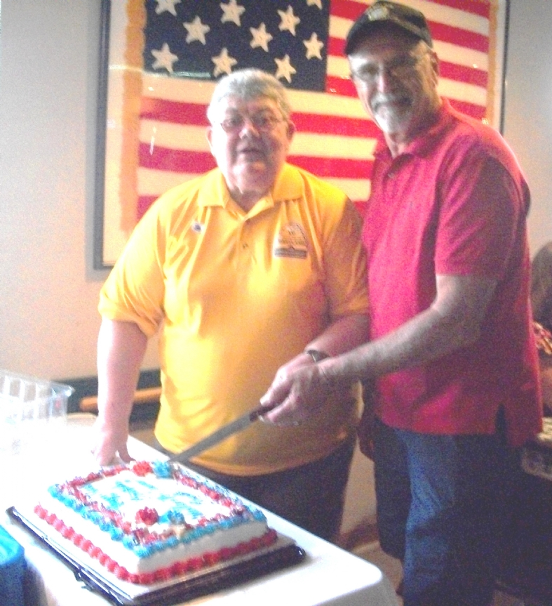 On Saturday, August 18, Wells-McComas Post celebrated its 86th birthday with a party at the post home.